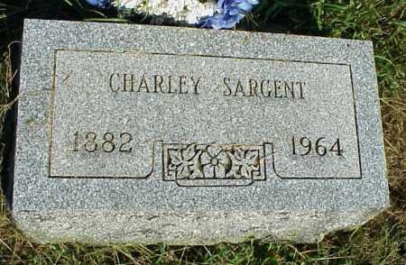 SARGENT, CHARLEY - Meigs County, Ohio | CHARLEY SARGENT - Ohio Gravestone Photos