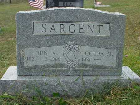 SARGENT, GOLDA M. - Meigs County, Ohio | GOLDA M. SARGENT - Ohio Gravestone Photos