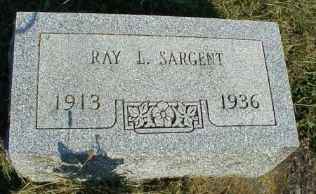 SARGENT, RAY L. - Meigs County, Ohio   RAY L. SARGENT - Ohio Gravestone Photos