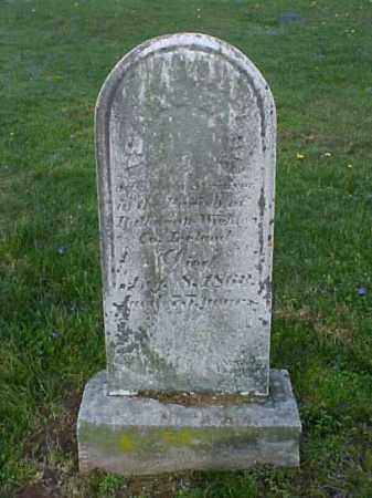 SAUL, ISAAC - Meigs County, Ohio   ISAAC SAUL - Ohio Gravestone Photos