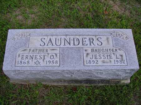 SAUNDERS, ERNEST O. - Meigs County, Ohio | ERNEST O. SAUNDERS - Ohio Gravestone Photos