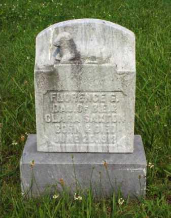 SAXTON, FLORENCE G. - Meigs County, Ohio | FLORENCE G. SAXTON - Ohio Gravestone Photos