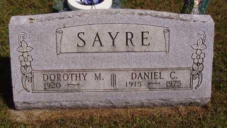 SAYRE, DOROTHY MAY - Meigs County, Ohio   DOROTHY MAY SAYRE - Ohio Gravestone Photos