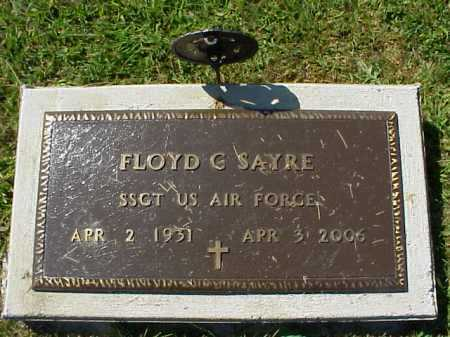 SAYRE, FLOYD C. - MILITARY - Meigs County, Ohio   FLOYD C. - MILITARY SAYRE - Ohio Gravestone Photos