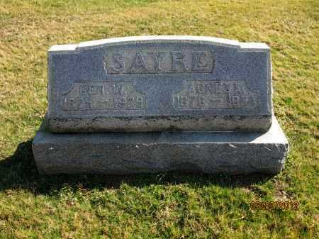 SAYRE, GEO W - Meigs County, Ohio | GEO W SAYRE - Ohio Gravestone Photos