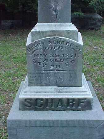 SCHARF, SR., HENRY - Meigs County, Ohio | HENRY SCHARF, SR. - Ohio Gravestone Photos