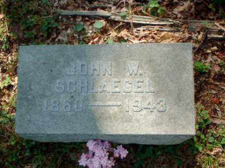 SCHLAEGEL, JOHN W. - Meigs County, Ohio | JOHN W. SCHLAEGEL - Ohio Gravestone Photos