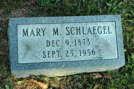 SCHLAEGEL, MARY M. - Meigs County, Ohio | MARY M. SCHLAEGEL - Ohio Gravestone Photos