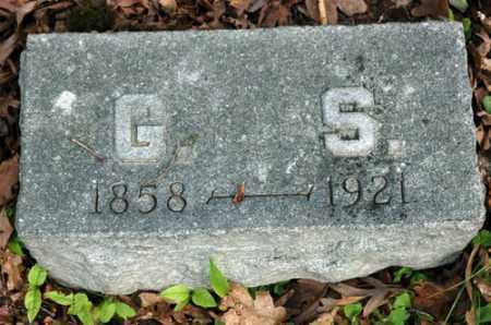 SCHLAGEL, G.S. - Meigs County, Ohio   G.S. SCHLAGEL - Ohio Gravestone Photos