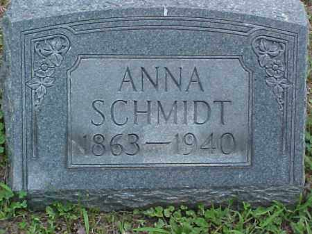 SCHMIDT, ANNA - Meigs County, Ohio   ANNA SCHMIDT - Ohio Gravestone Photos