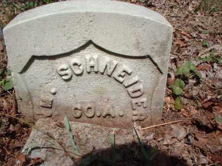 SCHNEIDER, WILLIAM - Meigs County, Ohio   WILLIAM SCHNEIDER - Ohio Gravestone Photos