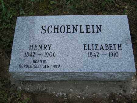 SCHOENLEIN, HENRY - Meigs County, Ohio   HENRY SCHOENLEIN - Ohio Gravestone Photos