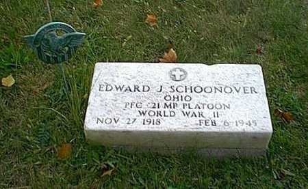 SCHOONOVER, EDWARD JASPER - Meigs County, Ohio | EDWARD JASPER SCHOONOVER - Ohio Gravestone Photos