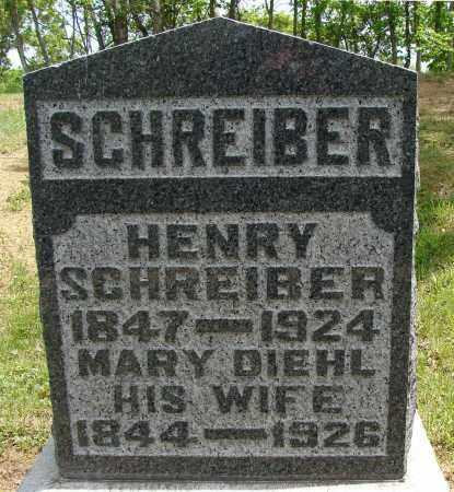 SCHREIBER, HENRY - Meigs County, Ohio | HENRY SCHREIBER - Ohio Gravestone Photos