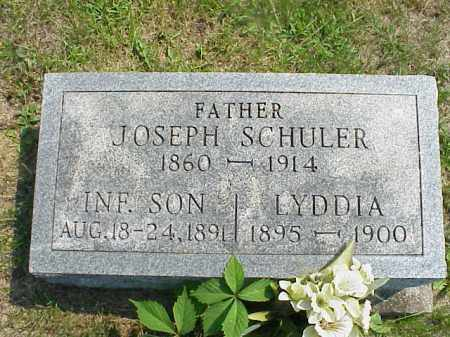 SCHULER, INFANT SON - Meigs County, Ohio | INFANT SON SCHULER - Ohio Gravestone Photos