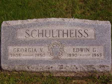 WEYGANDT SCHULTHEISS, GEORGIA VIRGINIA - Meigs County, Ohio | GEORGIA VIRGINIA WEYGANDT SCHULTHEISS - Ohio Gravestone Photos