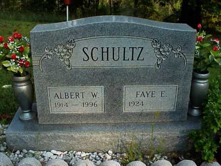 SCHULTZ, ALBERT W. - Meigs County, Ohio | ALBERT W. SCHULTZ - Ohio Gravestone Photos