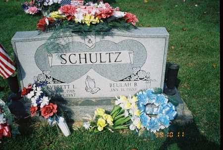 SCHULTZ, BEULAH B. - Meigs County, Ohio | BEULAH B. SCHULTZ - Ohio Gravestone Photos