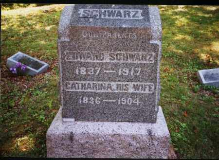 SCHWARZ, CATHARINA - Meigs County, Ohio | CATHARINA SCHWARZ - Ohio Gravestone Photos