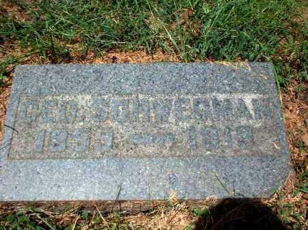 SCHWEGMAN, GEORGE - Meigs County, Ohio | GEORGE SCHWEGMAN - Ohio Gravestone Photos