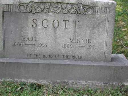 SCOTT, MINNIE - Meigs County, Ohio | MINNIE SCOTT - Ohio Gravestone Photos
