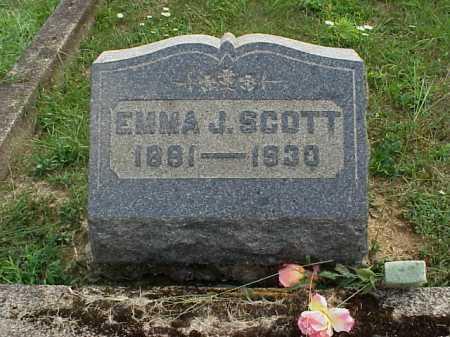 SCOTT, EMMA J. - Meigs County, Ohio   EMMA J. SCOTT - Ohio Gravestone Photos