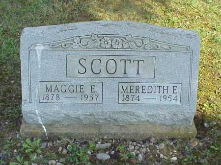 BAILEY SCOTT, MAGGIE E. - Meigs County, Ohio | MAGGIE E. BAILEY SCOTT - Ohio Gravestone Photos