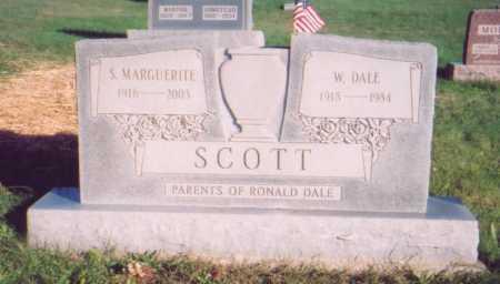 SCOTT, SUSANNA MARGUERITE - Meigs County, Ohio | SUSANNA MARGUERITE SCOTT - Ohio Gravestone Photos