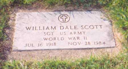SCOTT, WILLIAM DALE - Meigs County, Ohio | WILLIAM DALE SCOTT - Ohio Gravestone Photos