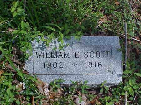 SCOTT, WILLIAM E. - Meigs County, Ohio | WILLIAM E. SCOTT - Ohio Gravestone Photos