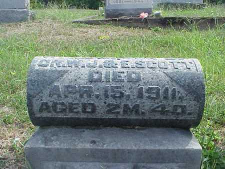 SCOTT, WILLIAM - VIEW 2 - Meigs County, Ohio   WILLIAM - VIEW 2 SCOTT - Ohio Gravestone Photos
