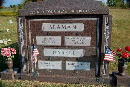 SEAMAN, MARY M. - Meigs County, Ohio | MARY M. SEAMAN - Ohio Gravestone Photos