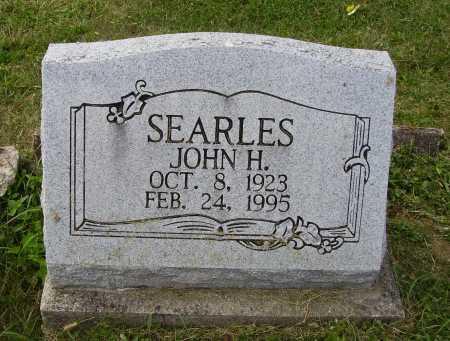 SEARLES, JOHN H. - Meigs County, Ohio | JOHN H. SEARLES - Ohio Gravestone Photos
