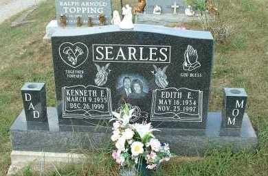 SEARLES, KENNETH E. - Meigs County, Ohio   KENNETH E. SEARLES - Ohio Gravestone Photos