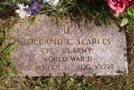 SEARLES, ROLLAND C. - Meigs County, Ohio | ROLLAND C. SEARLES - Ohio Gravestone Photos