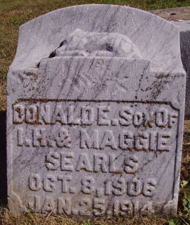 SEARLS, DONALD E. - Meigs County, Ohio | DONALD E. SEARLS - Ohio Gravestone Photos