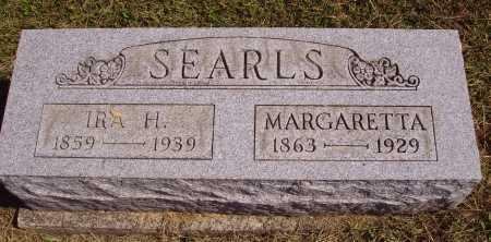 SEARLS, MARGARETTA - Meigs County, Ohio | MARGARETTA SEARLS - Ohio Gravestone Photos
