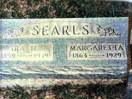 MCCOMAS SEARLS, MARGARETTA - Meigs County, Ohio   MARGARETTA MCCOMAS SEARLS - Ohio Gravestone Photos