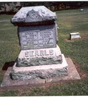 SEARLS, SAMUEL - Meigs County, Ohio | SAMUEL SEARLS - Ohio Gravestone Photos