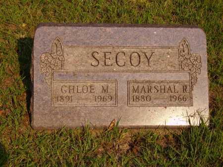 SECOY, MARSHALL R. - Meigs County, Ohio | MARSHALL R. SECOY - Ohio Gravestone Photos