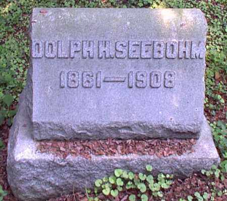 SEEBOHM, DOLPH H. - Meigs County, Ohio | DOLPH H. SEEBOHM - Ohio Gravestone Photos