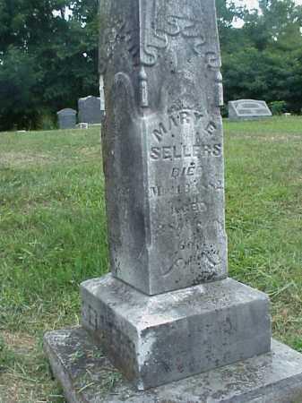 SELLERS, MARY E. - Meigs County, Ohio | MARY E. SELLERS - Ohio Gravestone Photos