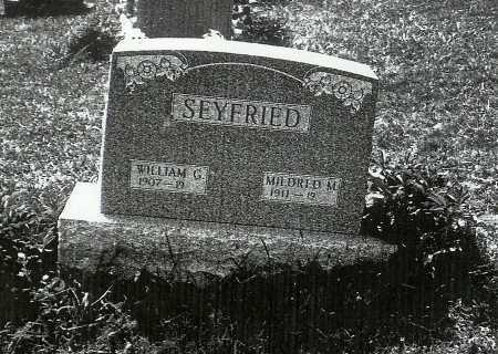 SEYFRIED, MILDRED M. - Meigs County, Ohio | MILDRED M. SEYFRIED - Ohio Gravestone Photos