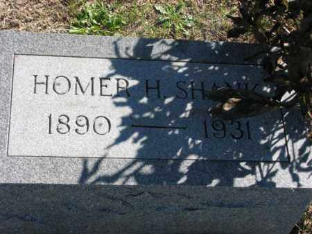 SHANK, HOMER H. - Meigs County, Ohio | HOMER H. SHANK - Ohio Gravestone Photos