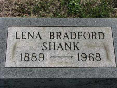 BRADFORD SHANK, LENA - Meigs County, Ohio | LENA BRADFORD SHANK - Ohio Gravestone Photos