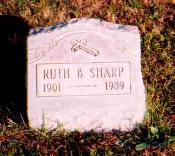 SHARP, RUTH - Meigs County, Ohio | RUTH SHARP - Ohio Gravestone Photos