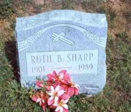 SHARP, RUTH B. - Meigs County, Ohio | RUTH B. SHARP - Ohio Gravestone Photos