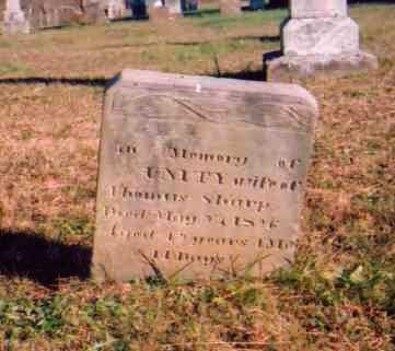 SHARP, UNITY - Meigs County, Ohio   UNITY SHARP - Ohio Gravestone Photos