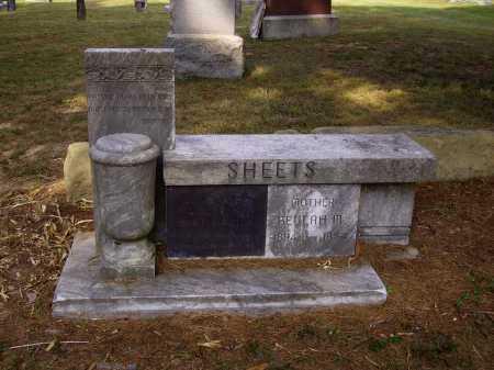 SHEETS, BEULAH M. - Meigs County, Ohio | BEULAH M. SHEETS - Ohio Gravestone Photos