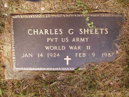 SHEETS, CHARLES G. - Meigs County, Ohio | CHARLES G. SHEETS - Ohio Gravestone Photos